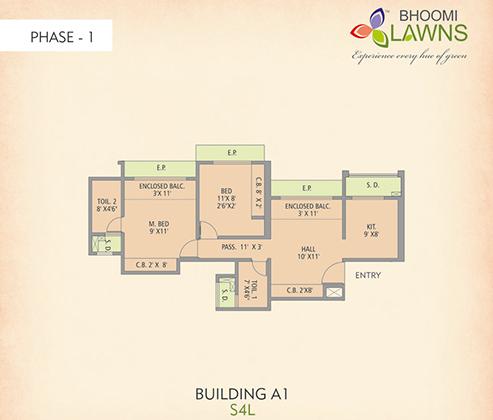 Gajra Group – Modern apartment in a new residental complex | 493 x 420 jpeg 86kB