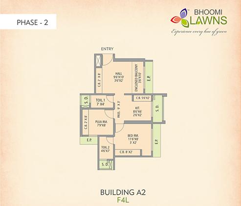 Gajra Group – Modern apartment in a new residental complex | 493 x 420 jpeg 88kB